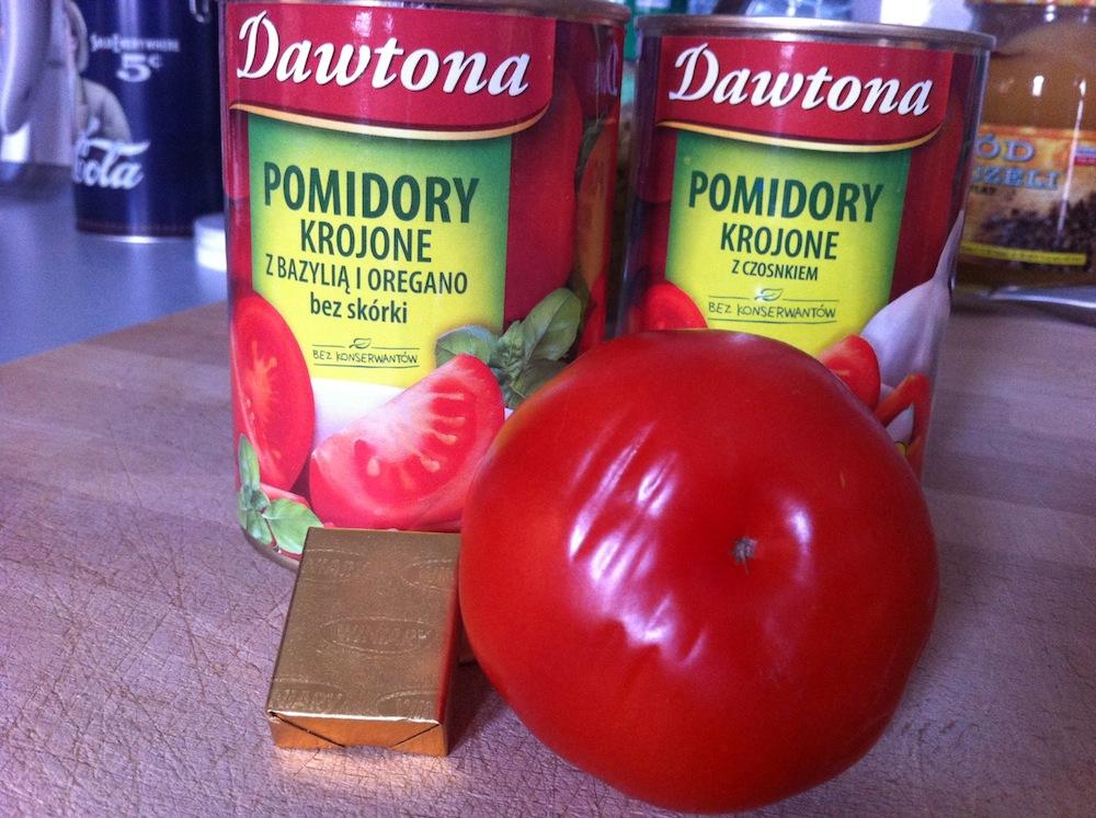 Pomidory maści przeróżnej