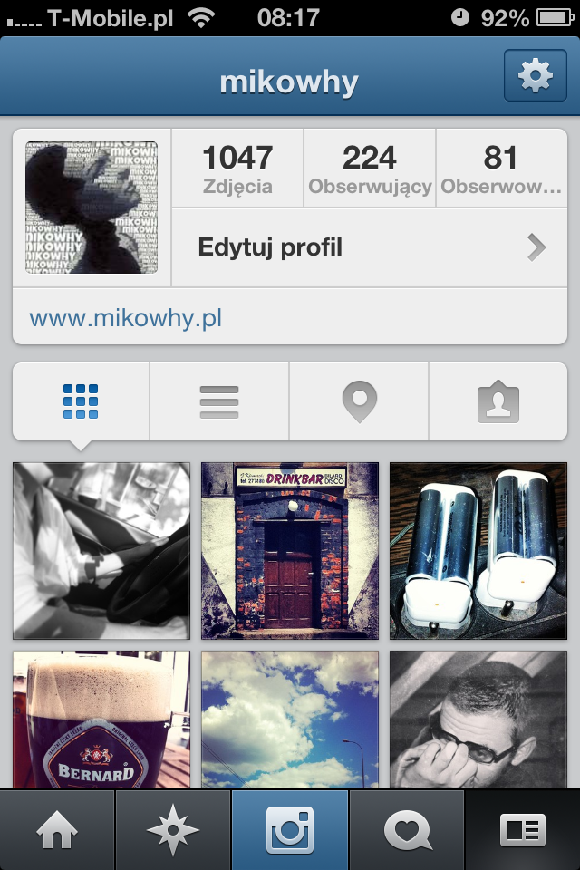 Instagram mikowhy